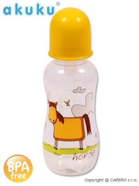 Fľaša s obrázkom Akuku 300 ml