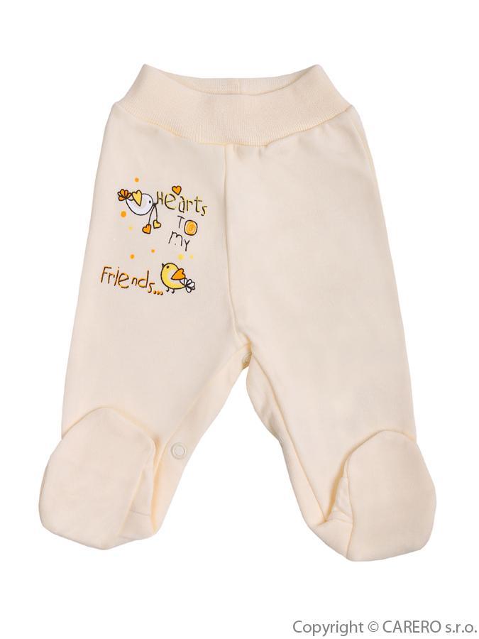 Dojčenské polodupačky Bobas Fashion Benjamin bežové