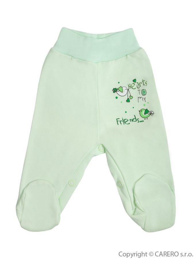 Dojčenské polodupačky Bobas Fashion Benjamin zelené