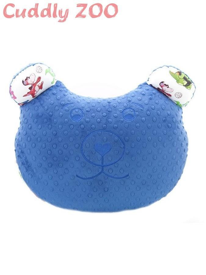 Multifunkčný vankúš Cuddly Zoo Bear modrá