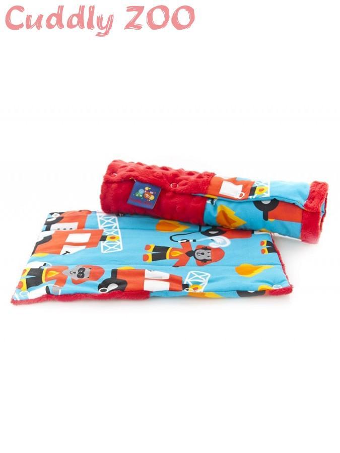 Chránič na bezpečnostné pásy Cuddly Zoo červený