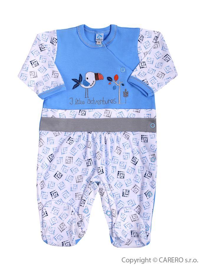 Dojčenský overal Koala Garden modrý