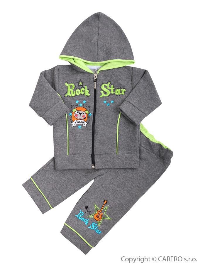 2-dielna súprava Koala RockStar sivo-zelená
