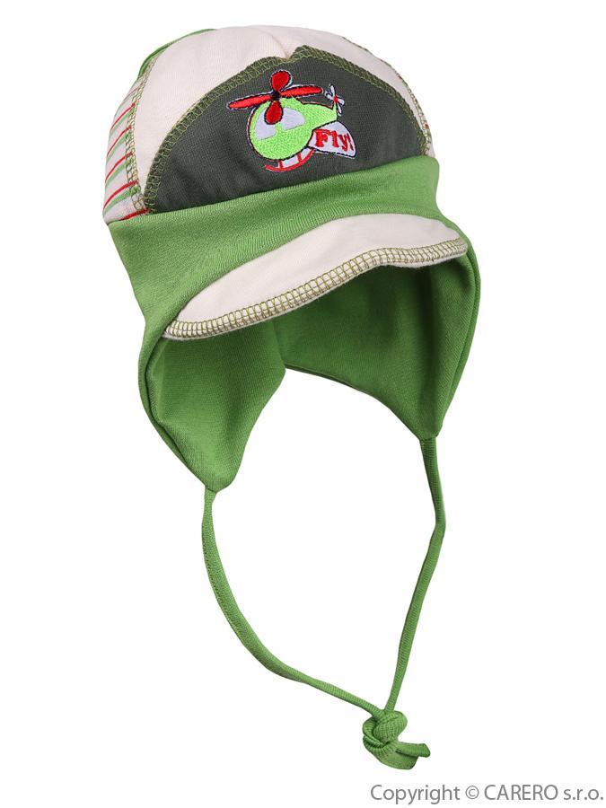 Detská čiapočka Fly zelená