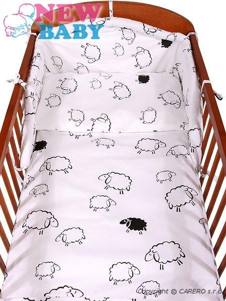 6-dielne posteľné obliečky 90/120 cm