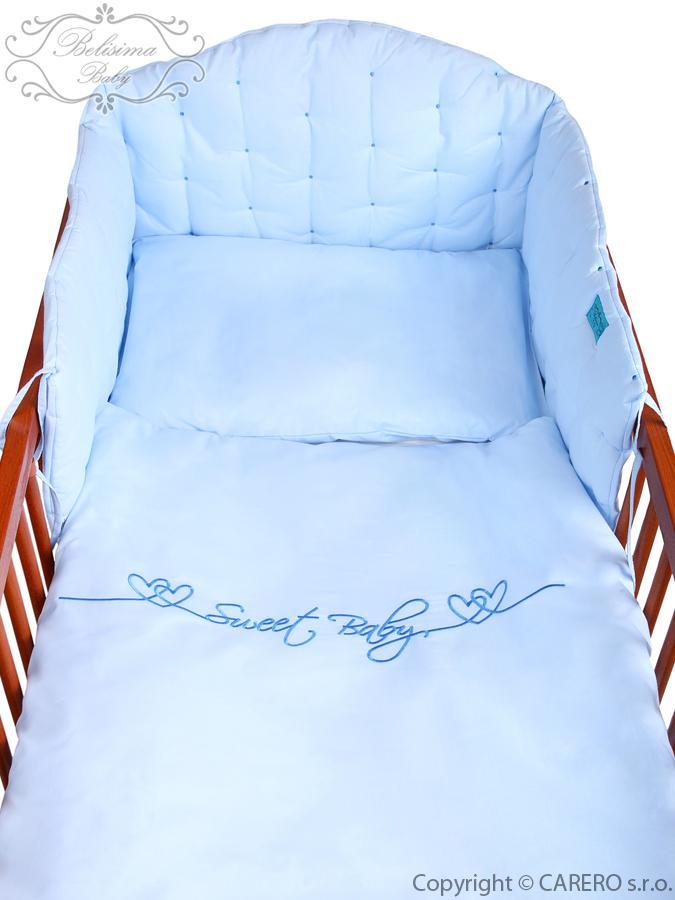2-dielne posteľné obliečky Belisima Srdiečko 100/135 modré