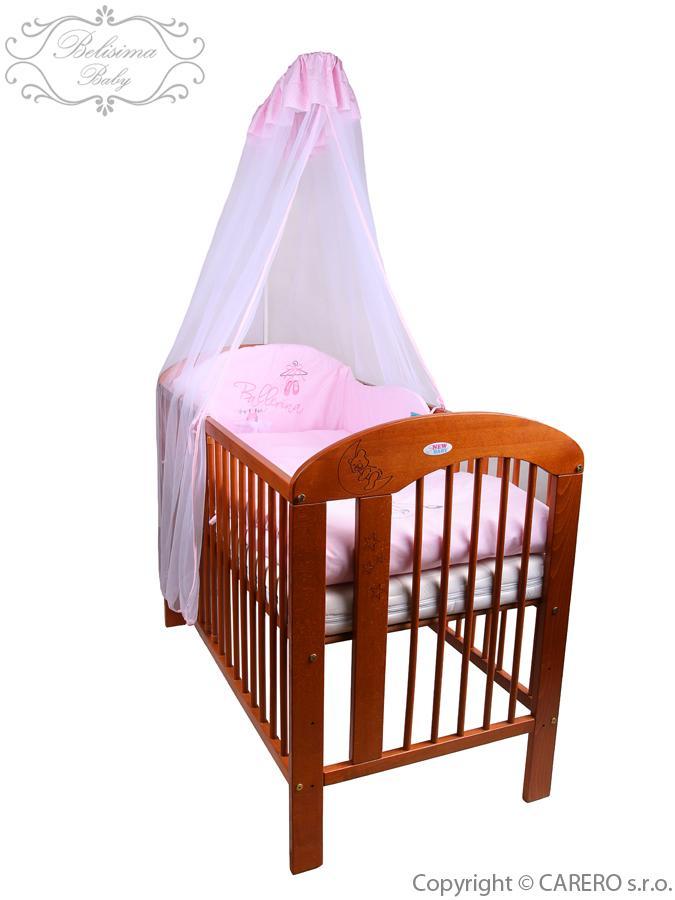 6-dielne posteľné obliečky Belisima Baletka 100/135 ružové