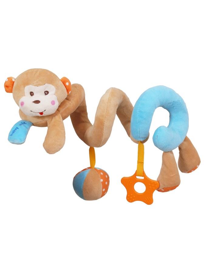 Hračka na postieľku špirála Baby Mix opice