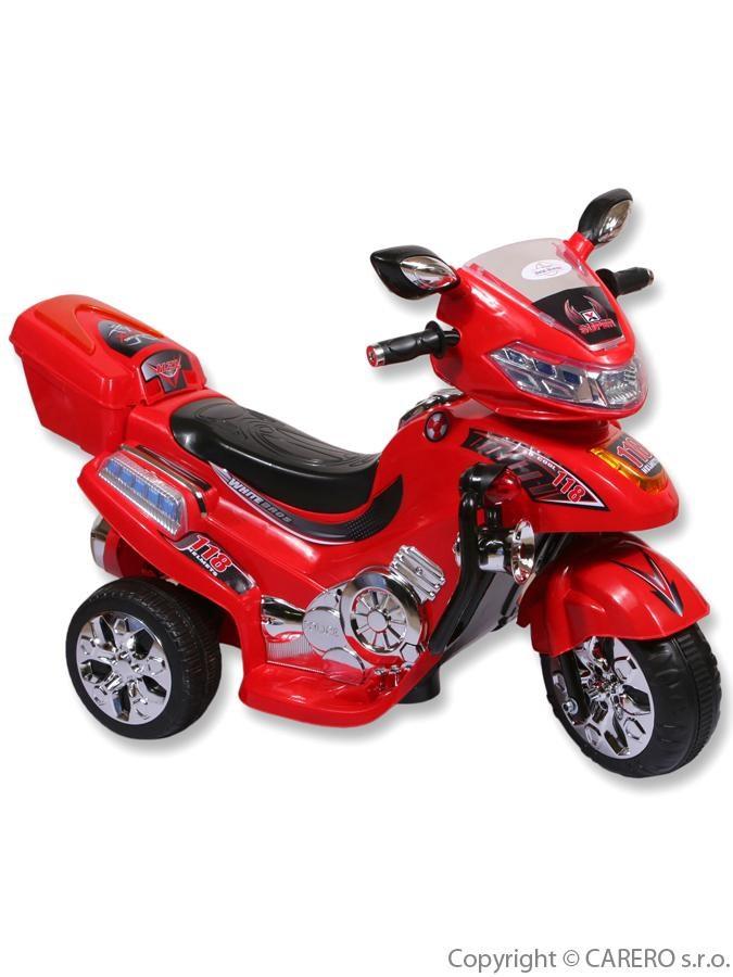 Elektrická motorka veľká BAYO red