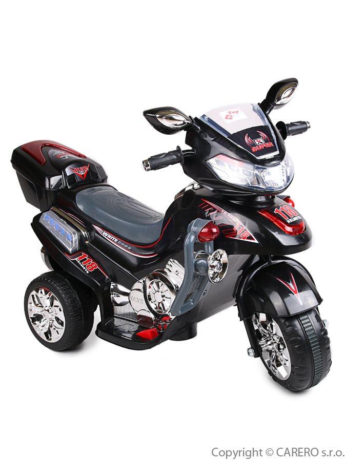 Elektrická motorka veľká BAYO black