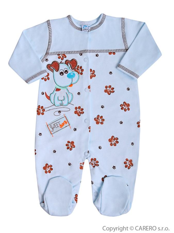 Dojčenský overal Koala Rexík modrý