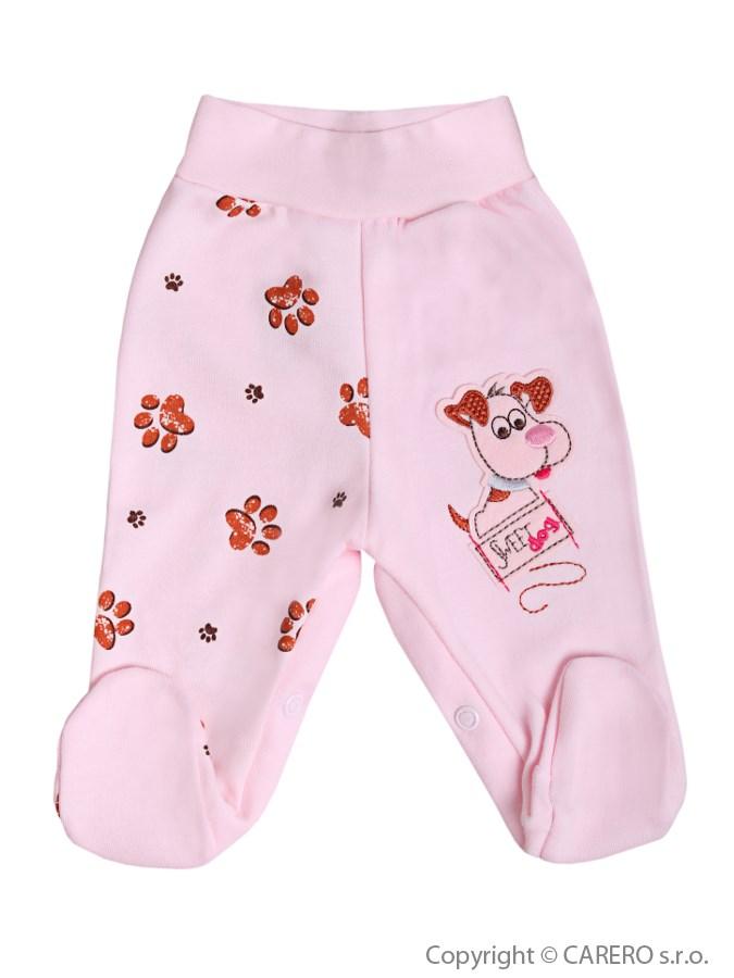 Dojčenské polodupačky Koala Rexík ružové