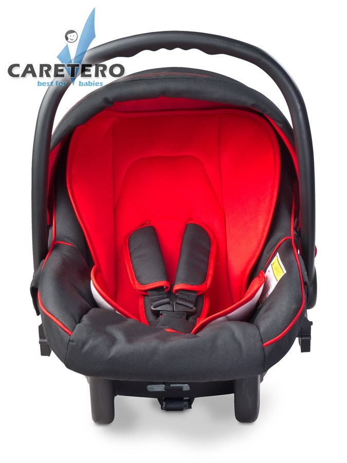 Autosedačka CARETERO Compass red 2015