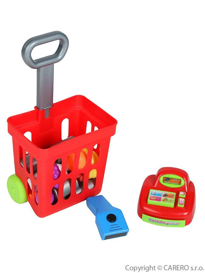 Detský nákupný košík s príslušenstvom Bayo 24 ks