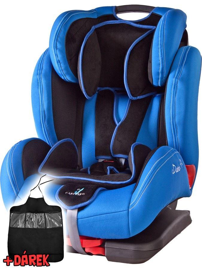 Autosedačka CARETERO DiabloFIX s Isofix blue 2015 + darček