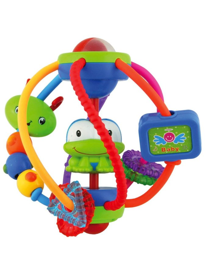 Edukačná hračka Baby Mix gula s žabičkou