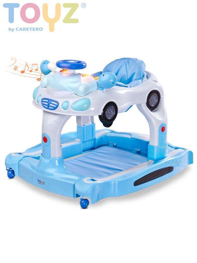 Detské chodítko 3v1 Toyz TipTop blue