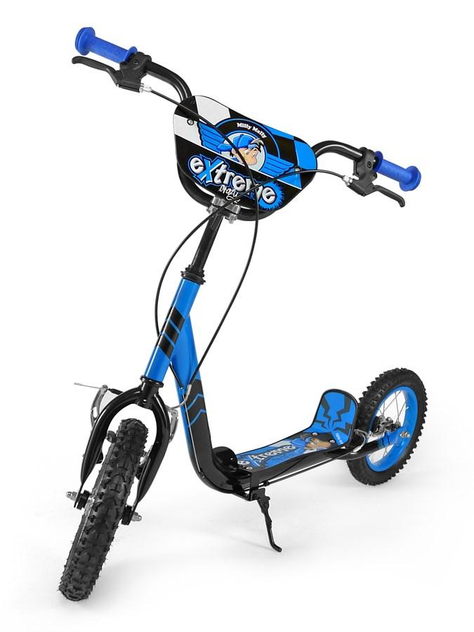 Detská kolobežka Milly Mally Scooter Extrema blue