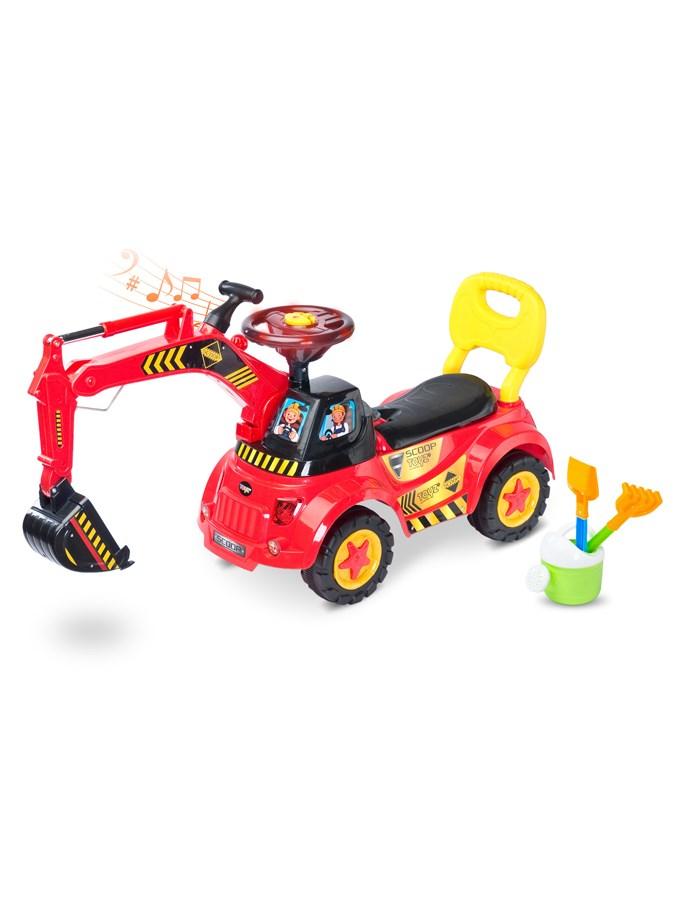 Detské jezdítko Toyz Scoop red
