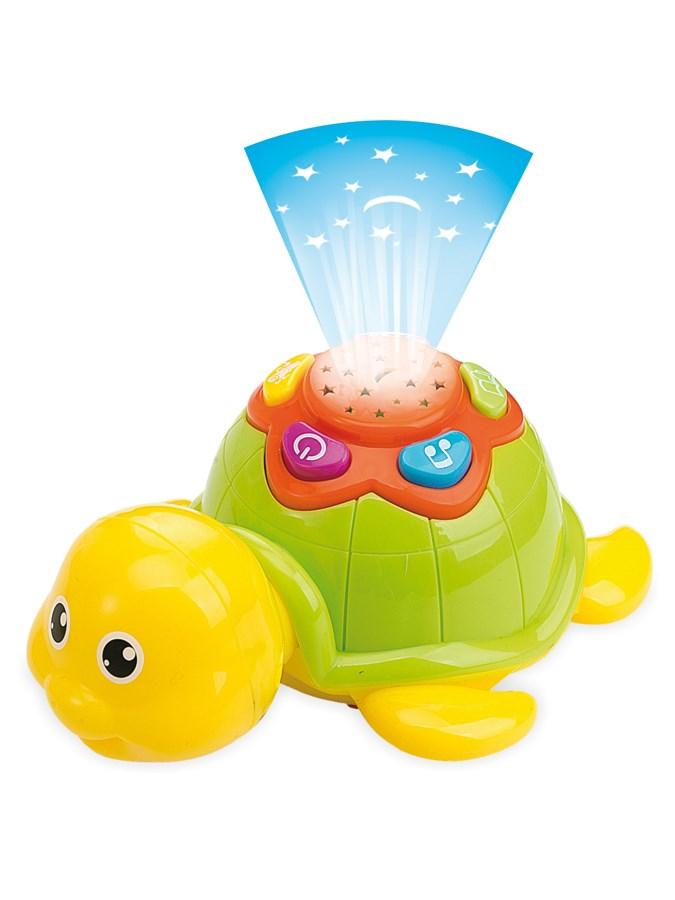 Edukačná hračka Baby Mix Želvička so svetlom