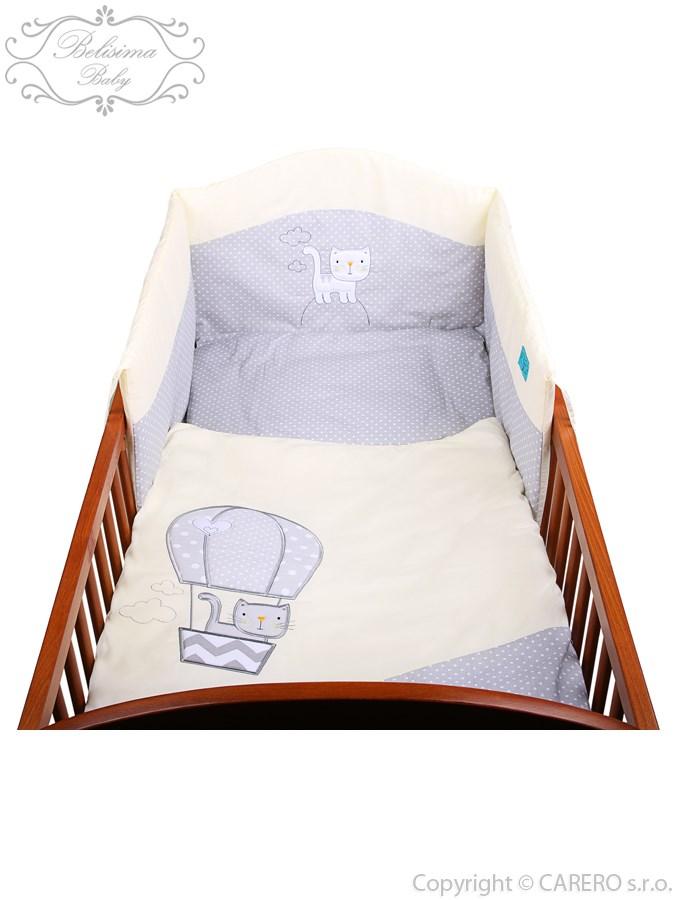 2-dielne posteľné obliečky Belisima Balón 90/120 bežové