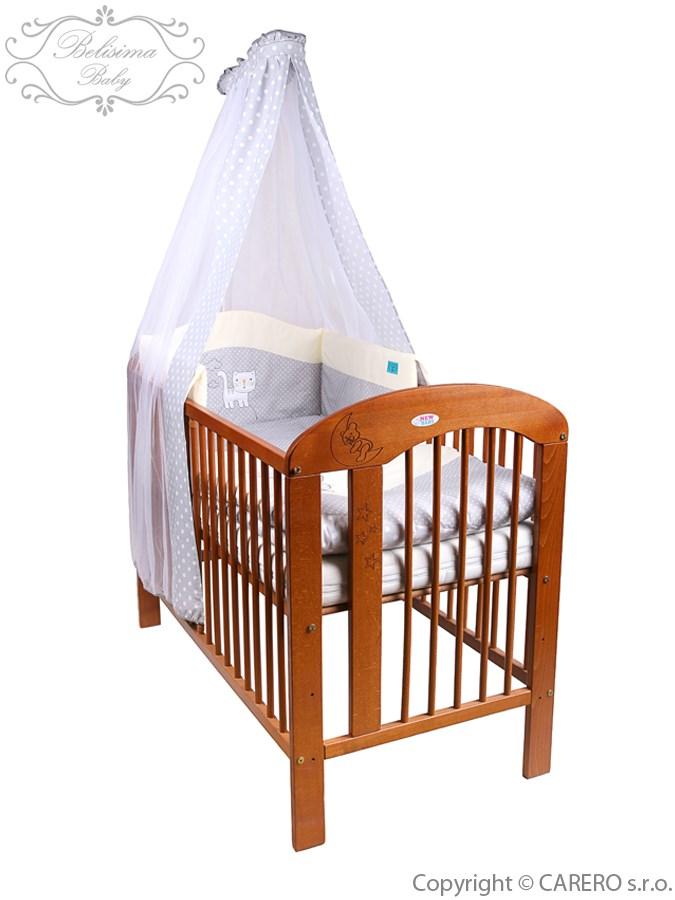 5-dielne posteľné obliečky Belisima Balón 90/120 bežové