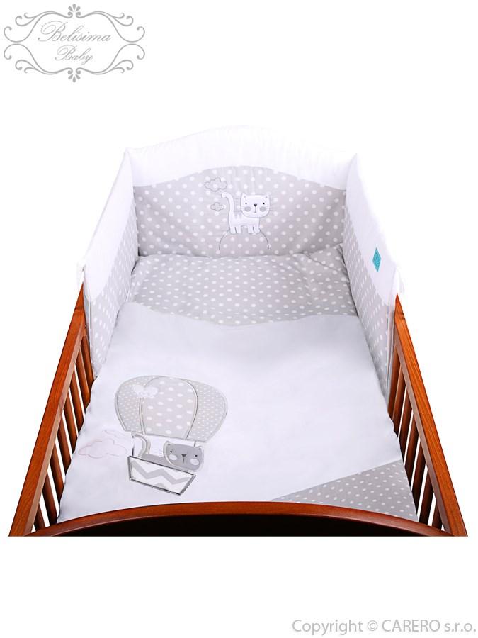 2-dielne posteľné obliečky Belisima Balón 100x135 biele