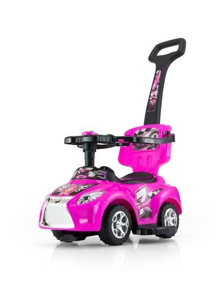 Detské jezdítko 2v1 Milly Mally Kid pink