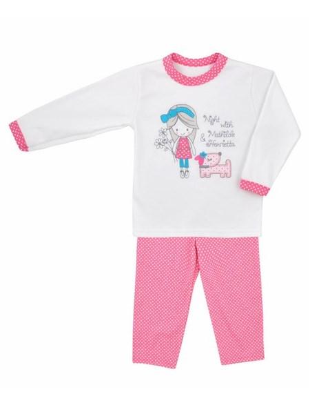 Detské bavlnené pyžamo Koala Matylda ružové