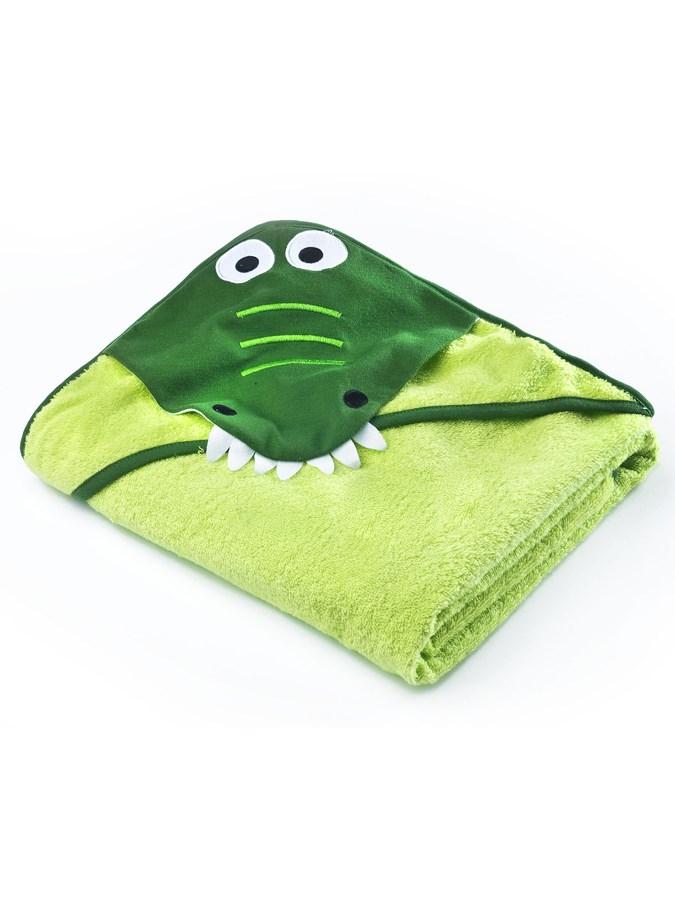 Detská osuška Sensillo Water Friends 100x100cm green crocodile