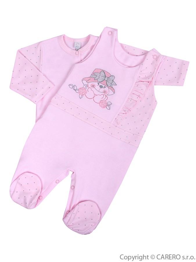 2-dielna kojenecká súprava Koala Natálka ružová
