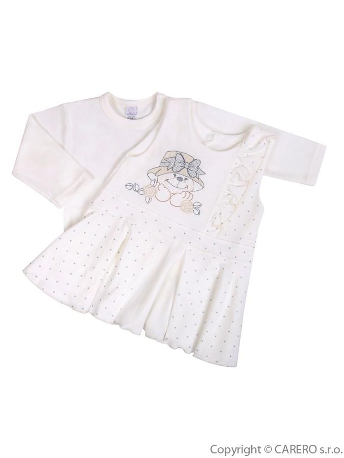 Dojčenská 2-dielna súprava so šatami Koala Natálka bežová