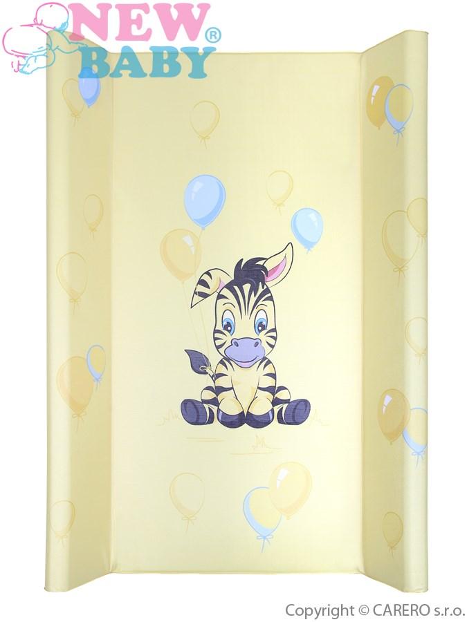 Prebaľovacia podložka New Baby Zebra žltá 80x50