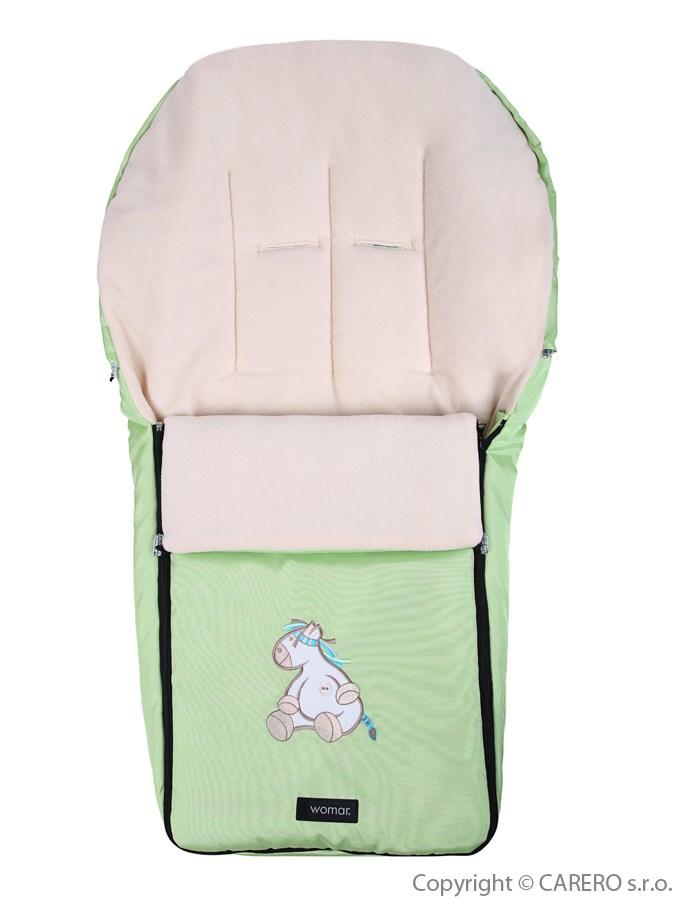 Fusak Womar - fleece zelený