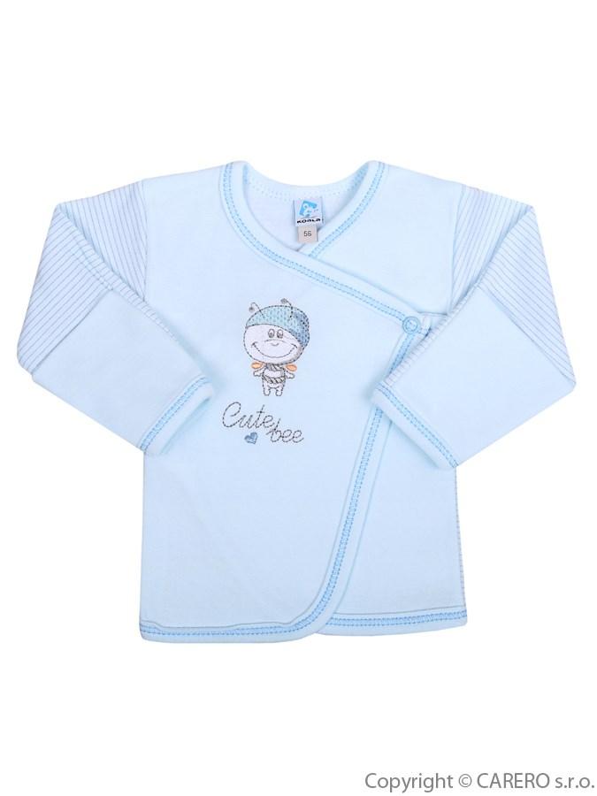 Dojčenská košieľka Koala Vilko modrá
