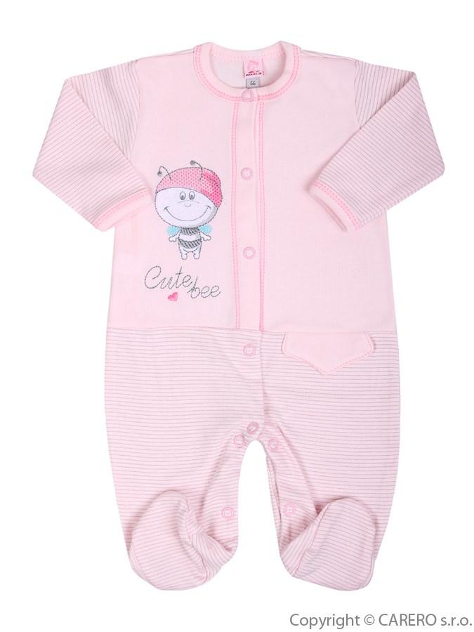 Dojčenský overal Koala Vilík ružový