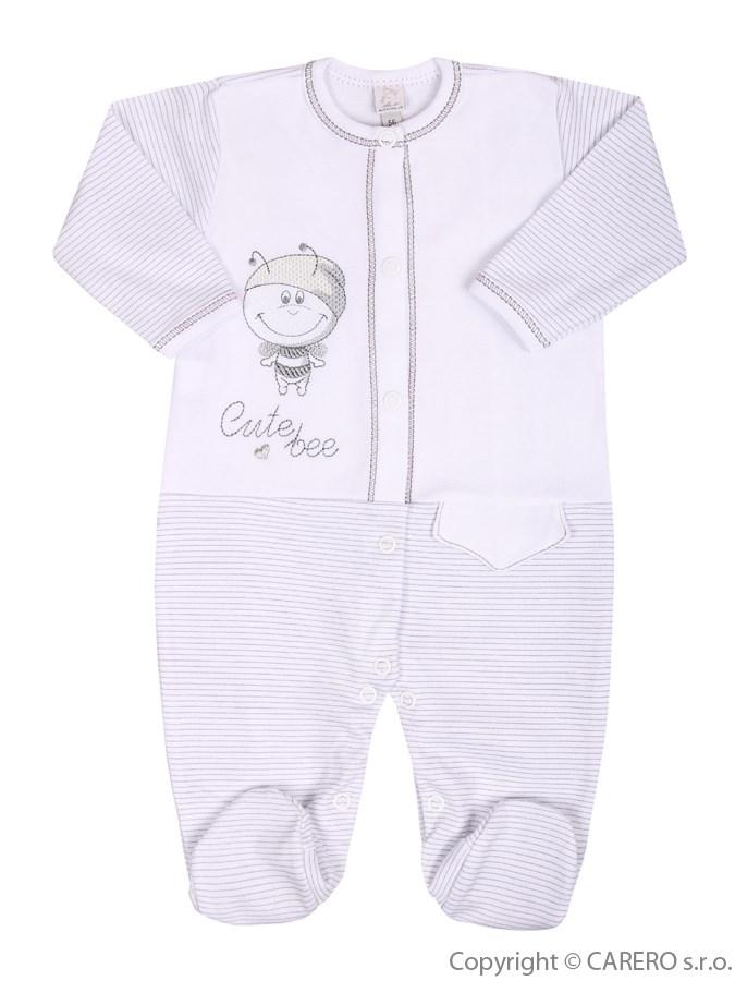 Dojčenský overal Koala Vilík biely